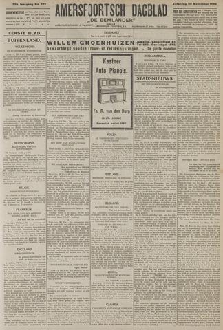 Amersfoortsch Dagblad / De Eemlander 1926-11-20
