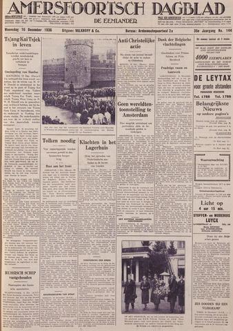 Amersfoortsch Dagblad / De Eemlander 1936-12-16