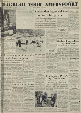 Dagblad voor Amersfoort 1951-01-16