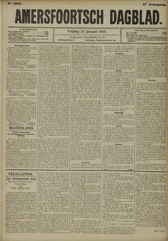 Amersfoortsch Dagblad 1907-01-25