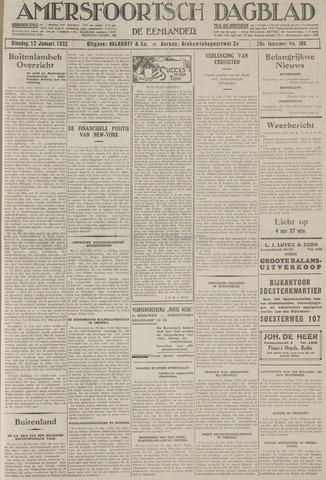 Amersfoortsch Dagblad / De Eemlander 1932-01-12