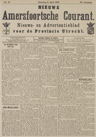 Nieuwe Amersfoortsche Courant 1918-04-06