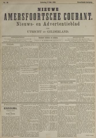 Nieuwe Amersfoortsche Courant 1888-05-12