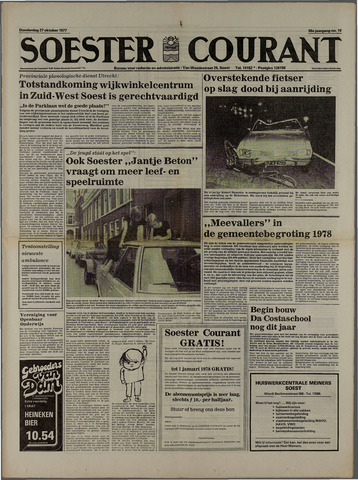 Soester Courant 1977-10-27