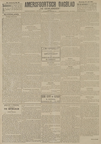 Amersfoortsch Dagblad / De Eemlander 1922-07-24