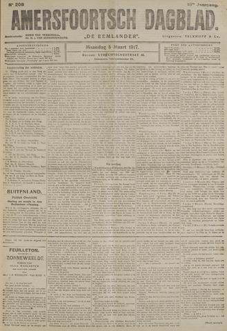 Amersfoortsch Dagblad / De Eemlander 1917-03-05