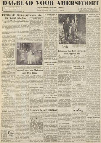Dagblad voor Amersfoort 1947-11-25