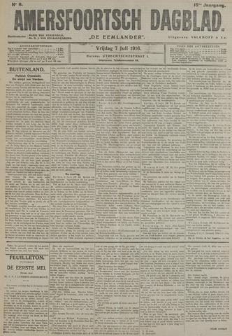 Amersfoortsch Dagblad / De Eemlander 1916-07-07
