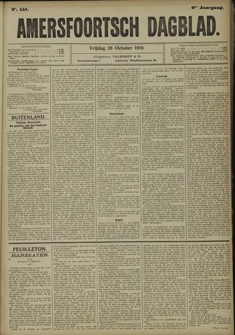 Amersfoortsch Dagblad 1910-10-28