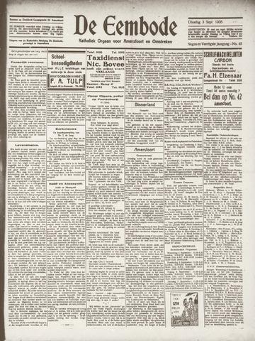 De Eembode 1935-09-03