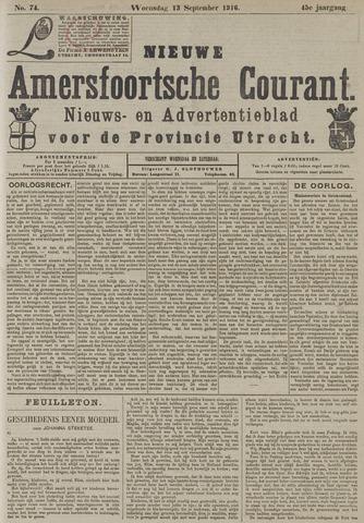 Nieuwe Amersfoortsche Courant 1916-09-13