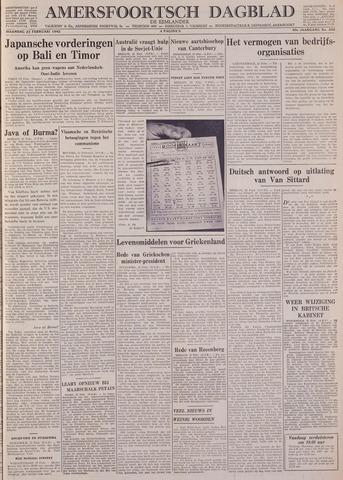 Amersfoortsch Dagblad / De Eemlander 1942-02-23