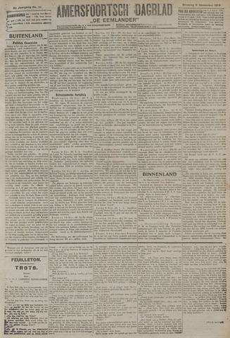 Amersfoortsch Dagblad / De Eemlander 1919-11-11