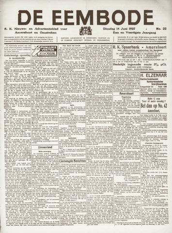 De Eembode 1927-06-14