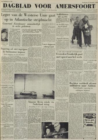 Dagblad voor Amersfoort 1950-12-21