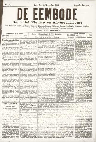 De Eembode 1895-11-30