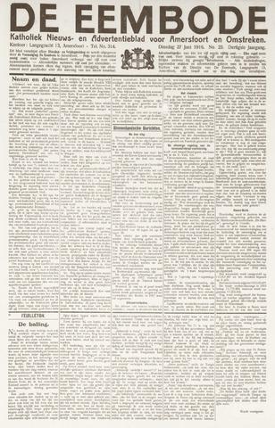 De Eembode 1916-06-27
