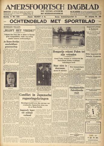 Amersfoortsch Dagblad / De Eemlander 1939-05-15