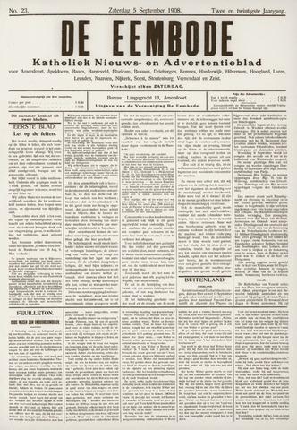 De Eembode 1908-09-05