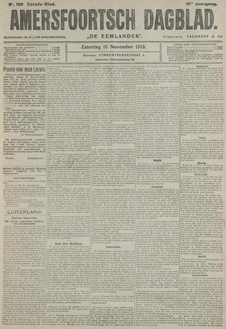 Amersfoortsch Dagblad / De Eemlander 1913-11-15