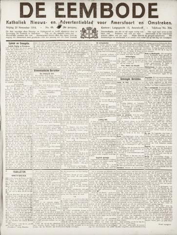 De Eembode 1914-11-20