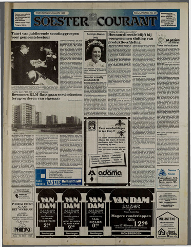 Soester Courant 1985-01-30