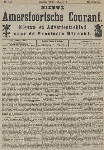 Nieuwe Amersfoortsche Courant 1916-12-30