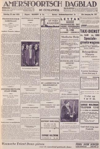 Amersfoortsch Dagblad / De Eemlander 1935-06-22