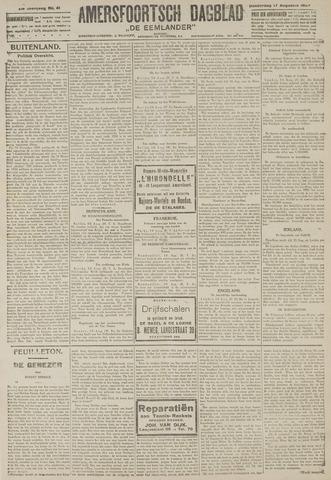 Amersfoortsch Dagblad / De Eemlander 1922-08-17