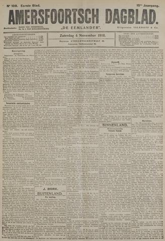 Amersfoortsch Dagblad / De Eemlander 1916-11-04
