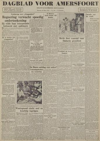Dagblad voor Amersfoort 1947-03-22