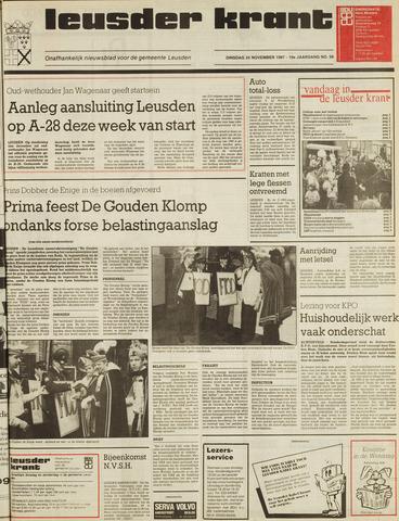 Leusder Krant 1987-11-24