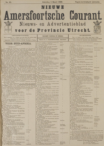 Nieuwe Amersfoortsche Courant 1900-03-03