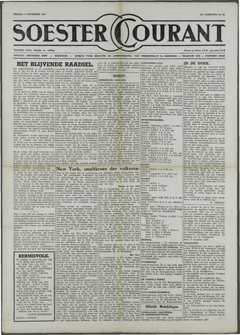 Soester Courant 1957-11-08