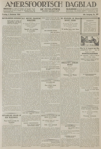 Amersfoortsch Dagblad / De Eemlander 1929-11-05