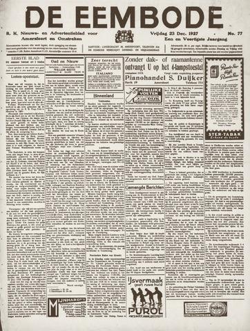 De Eembode 1927-12-23