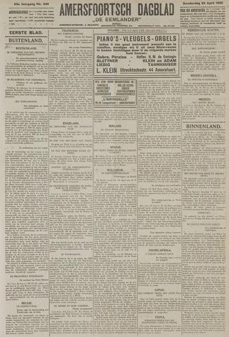 Amersfoortsch Dagblad / De Eemlander 1925-04-23