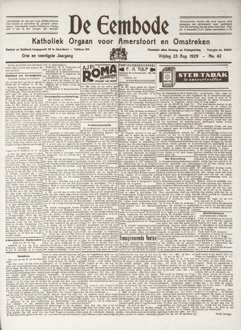 De Eembode 1929-08-23