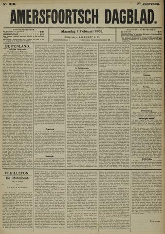 Amersfoortsch Dagblad 1909-02-01