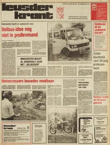 Leusder Krant 1981-08-04