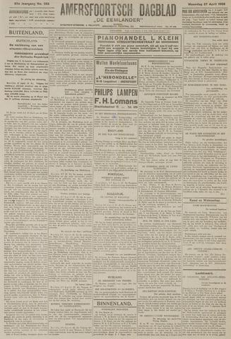 Amersfoortsch Dagblad / De Eemlander 1925-04-27