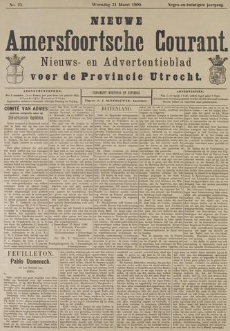 Nieuwe Amersfoortsche Courant 1900-03-21