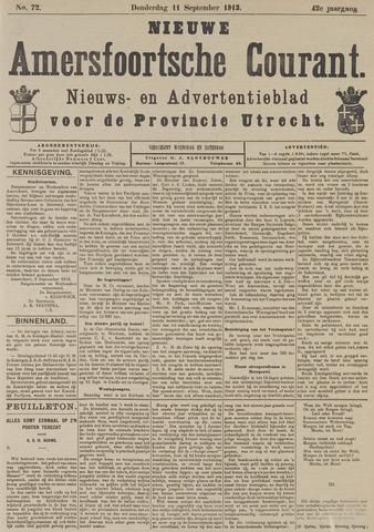 Nieuwe Amersfoortsche Courant 1913-09-11