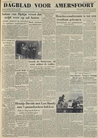 Dagblad voor Amersfoort 1949-10-17