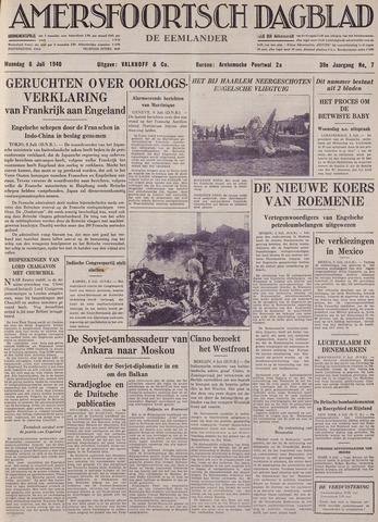Amersfoortsch Dagblad / De Eemlander 1940-07-08