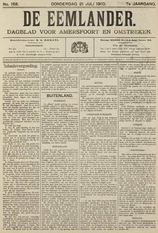 De Eemlander 1910-07-21