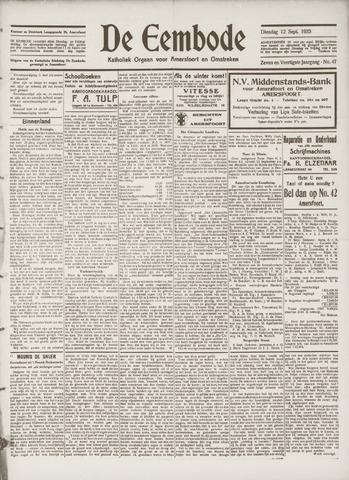 De Eembode 1933-09-12