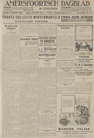 Amersfoortsch Dagblad / De Eemlander 1930-09-27