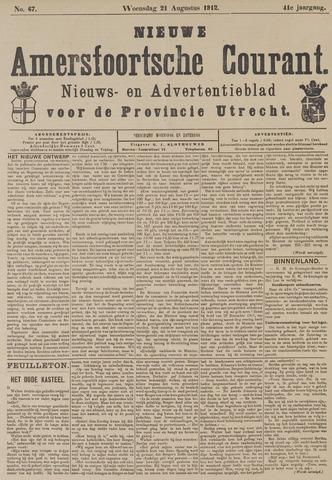 Nieuwe Amersfoortsche Courant 1912-08-21