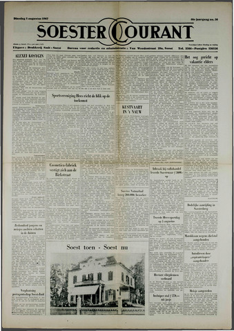 Soester Courant 1967-08-01